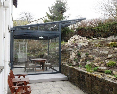 Frameless Glass Rooms