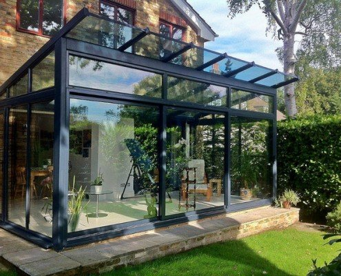 Glass Room Glass Extension