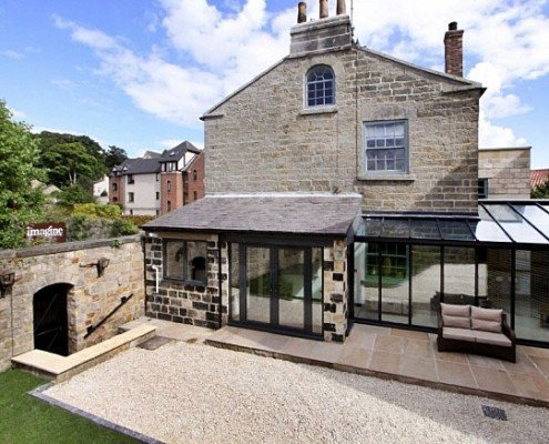 Glass Rooms Glass Extension