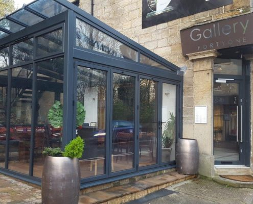 Gallery FortyOne Extension Leeds