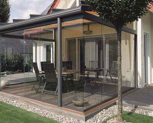 Frameless Glass Extension