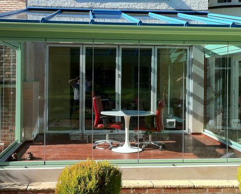 Frameless Glass Extensions