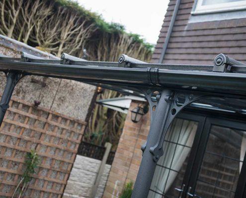 Glass Deck Verandas Supports