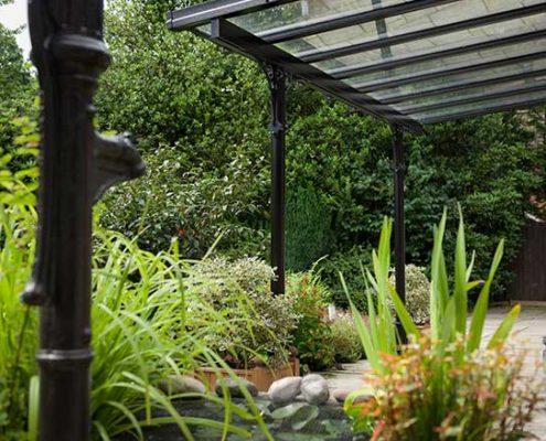 Glass Patio Verandas Garden