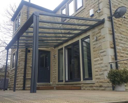 Veranda Glass Roof